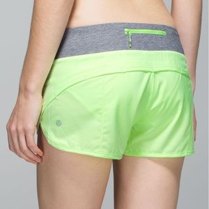 Lululemon | Speed Short 4-way Stretch Clear Mint